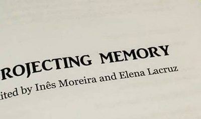 New book: Projecting Memory